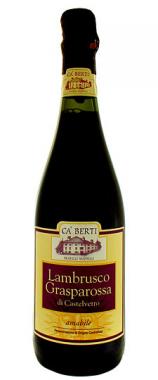 Lambrusco Grasparossa di Castelvetro Amabile Doc - Azienda Agricola Ca' Berti - Vino Emilia Romagna