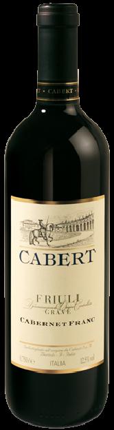Cabernet Franc Friuli Grave Doc - Cabert - Vino Friuli Venezia Giulia