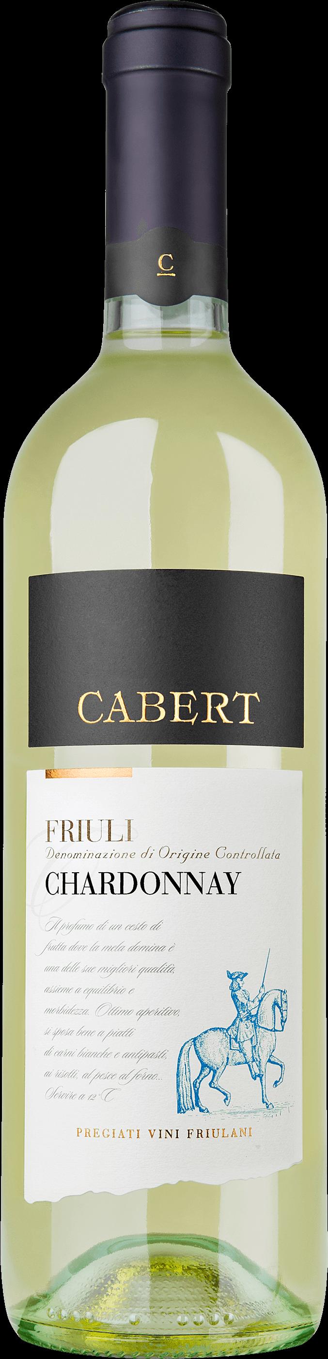Chardonnay Friuli Grave Doc - Cabert - Vino Friuli Venezia Giulia