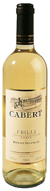 Pinot Bianco Friuli Grave Doc - Cabert - Vino Friuli Venezia Giulia