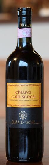 Chianti Colli Senesi Docg - Casa Alle Vacche - Vino Toscana