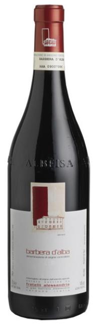 Barbera D'Alba Doc - Fratelli Alessandria - Vino Piemonte