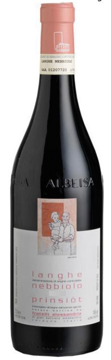 "Langhe Nebbiolo ""Prinsiot"" Doc - Fratelli Alessandria - Vino Piemonte"