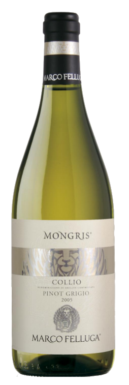 "Pinot Grigio Collio Doc ""Mongris"" - Marco Felluga - Vino Friuli Venezia Giulia"