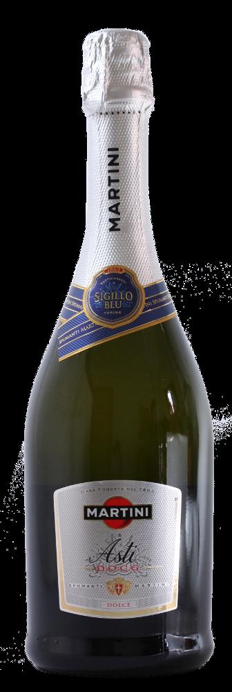 Asti Spumante Martini Sigillo Blu Docg - Cinzano Gancia Martini - Vino Piemonte