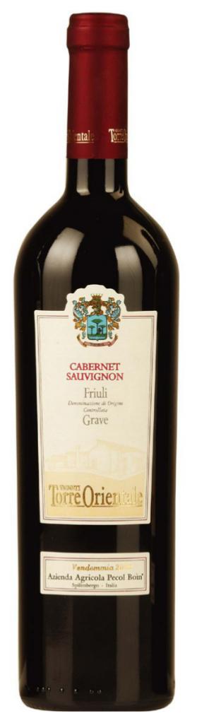 Cabernet Sauvignon Grave Doc - Pecol Boin - Vino Friuli Venezia Giulia
