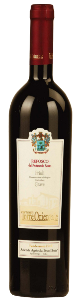 Refosco dal Peduncolo Rosso Grave Doc - Pecol Boin - Vino Friuli Venezia Giulia