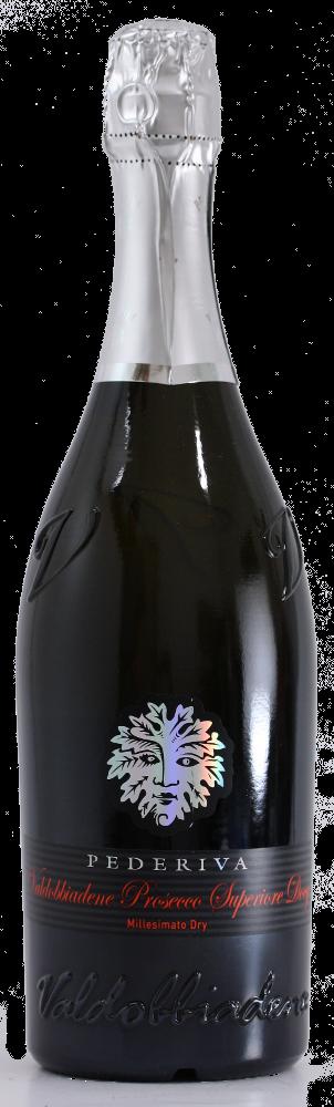 Valdobbiadene Superiore Docg Prosecco Extra Dry Millesimato - Pederiva - Vino Veneto