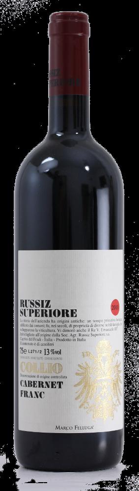 Cabernet Franc Collio Doc - Russiz Superiore - Vino Friuli Venezia Giulia