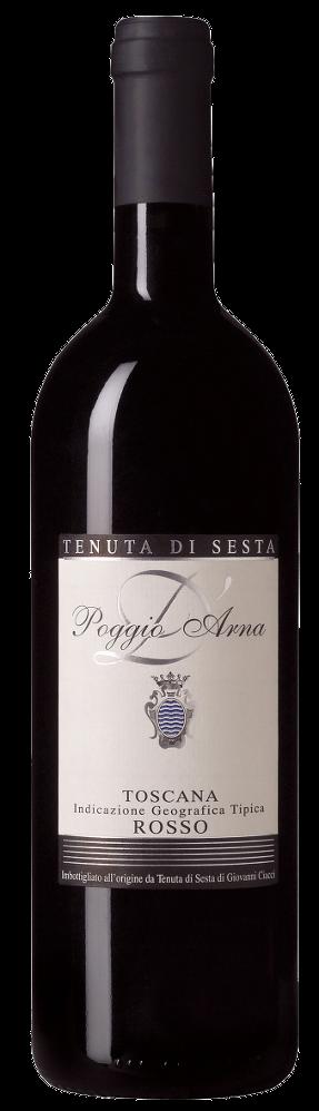 Poggio D'Arna Rosso Igt - Tenuta di Sesta - Vino Toscana