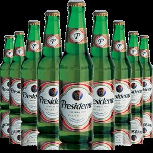 12 Bottiglie Birra Presidente, Repubblica Dominicana - Ambev -
