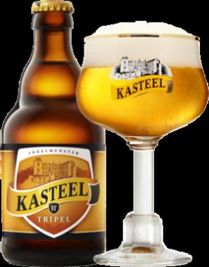 Kasteel Blonde Triple cl33 - Brasserie Van Honsebrouck - Birra Belgio