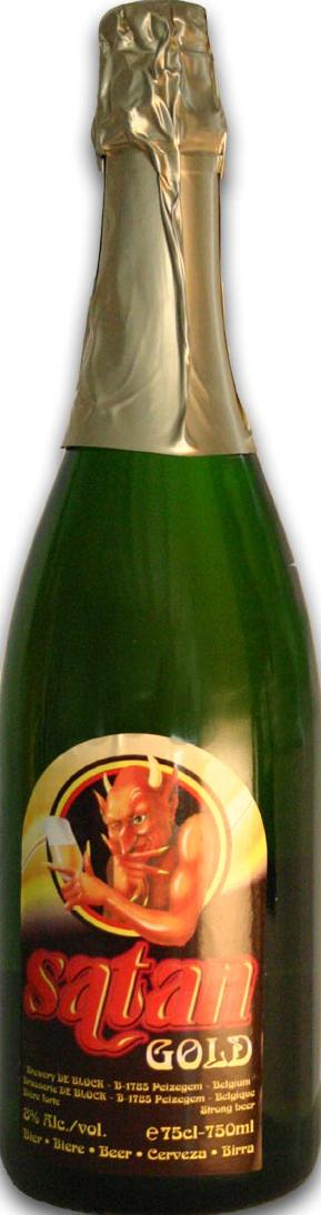 Satan Gold cl75 - Browerij De Block - Birra Belgio
