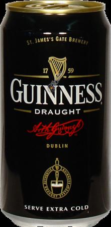 Guinness Draught Lattina cl33 - Guinness - Birra Irlanda