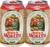 Moretti Lattina cl33 - Moretti - Birra Italia