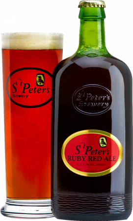 St. Peter's Ruby Red Ale cl50 - St. Peters Brewery - Birra Regno Unito