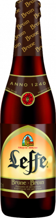 Leffe Brune cl33 - Interbrew - Birra Belgio