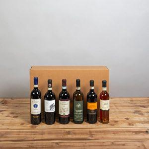 Cesta Natalizia : 150 Confezione Vini Toscana -  -