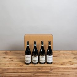 Cesta Natalizia : 129 Confezione Vini Piemonte -  -