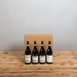 Cesta Natalizia : 151 Confezione Vini Piemonte -  -