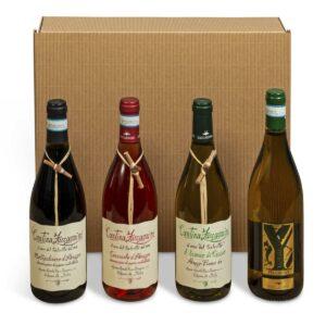 Cesta Natalizia: 144 Confezione Vini Dell'Abruzzo -  -