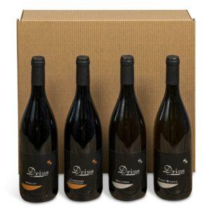 Cesta Natalizia : 146 Confezione Vini Friuli - Mauro Drius - Mauro Drius -