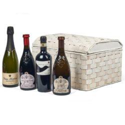 Cesta Natalizia : 152 Confezione Vini Lombardia -  -