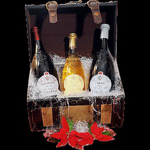 Cesta Natalizia : 130 Confezione Vini Lombardia -  -