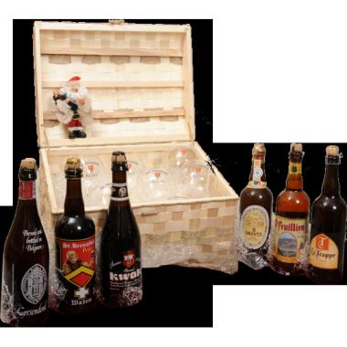 Cesta Natalizia : 119 Confezione Birre Artigianali -  -