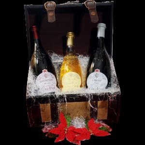 Cesta Natalizia : 127 Confezione Vini Lombardia -  -
