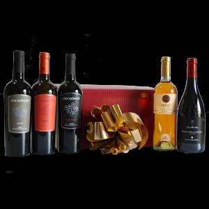 Cesta Natalizia : 123 Confezione Vini Sicilia -  -