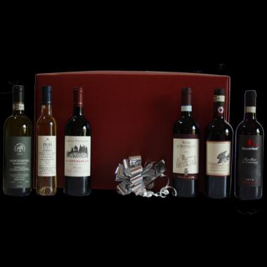 Cesta Natalizia : 125 Confezione Vini Toscana -  -