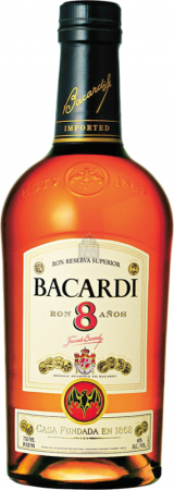 Bacardi 8y - Bacardi Company ltd - Rum Cuba