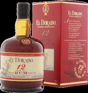 El Dorado 12y 70cl - Demerara Distillers ltd - Rum Guyana Britannica