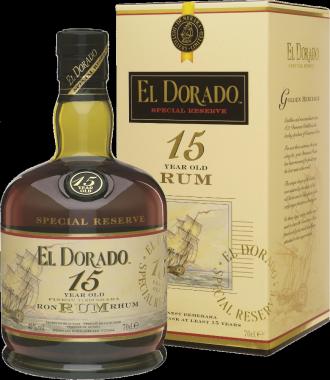 El Dorado 15y - Demerara Distillers ltd - Rum Guyana Britannica