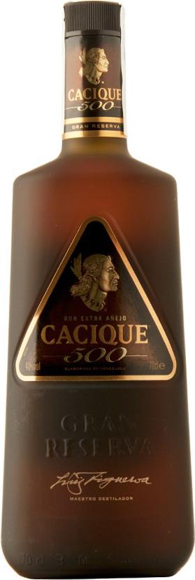 Cacique 500 Extra Anejo - Diageo - Rum Venezuela