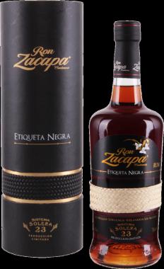 Zacapa 23y Etichetta Nera - Diageo - Rum Guatemala