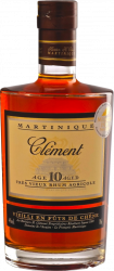 Clement Martinique 10y 70cl - Heritiers h. Clement le Francois - Rum Guadalupe