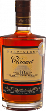 Clement Martinique 10y - Heritiers h. Clement le Francois - Rum Guadalupe