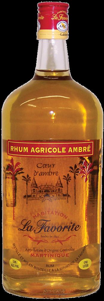 La Favorite Ambre 1lt - La Favorite Distillerie - Rum Guadalupe
