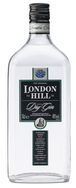 London Hill 100cl - Ian Macleod Distillers ltd - Gin Regno Unito
