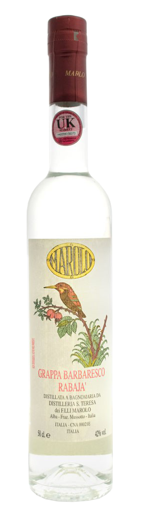 Grappa Barbaresco Rabajà 50cl - Distilleria Marolo - Grappa Italia