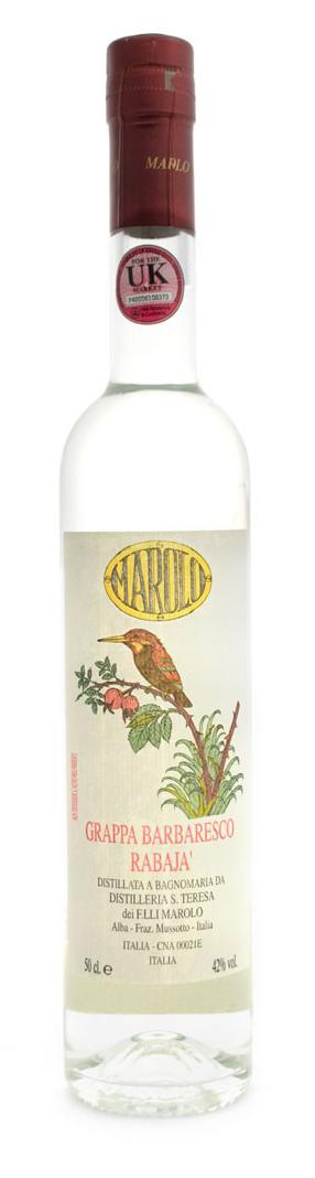 Grappa Barbaresco Rabajà 50cl - Distilleria Marolo - Grappa Italia