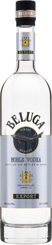 Beluga Noble Vodka 70cl - Mariinsk Distillery - Vodka Russia