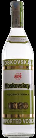 Moskovskaja Vodka - SPI Spirits - Vodka Russia