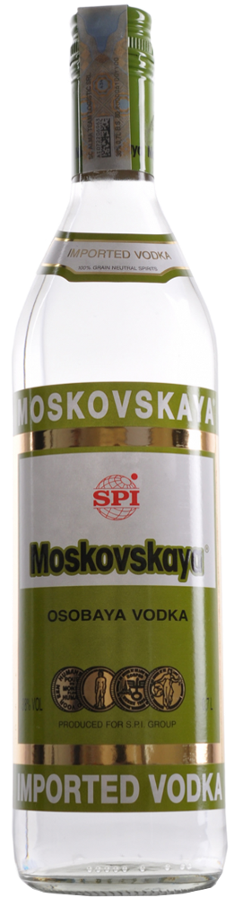 Moskovskaja Vodka - SPI Spirits - Vodka Cipro