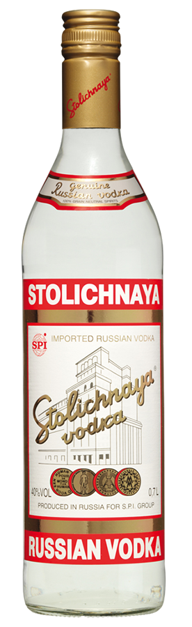 Stolichnaya Vodka - SPI Spirits - Vodka Russia