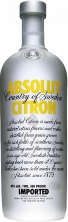 Absolut Limone Vodka - The Absolut Company - Vodka Svezia