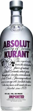 Absolut Kurant Vodka - The Absolut Company - Vodka Svezia