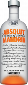Absolut Mandarino Vodka - The Absolut Company - Vodka Svezia
